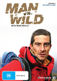 Man vs Wild - Season 3 Collection 1: No Man's Land on DVD image