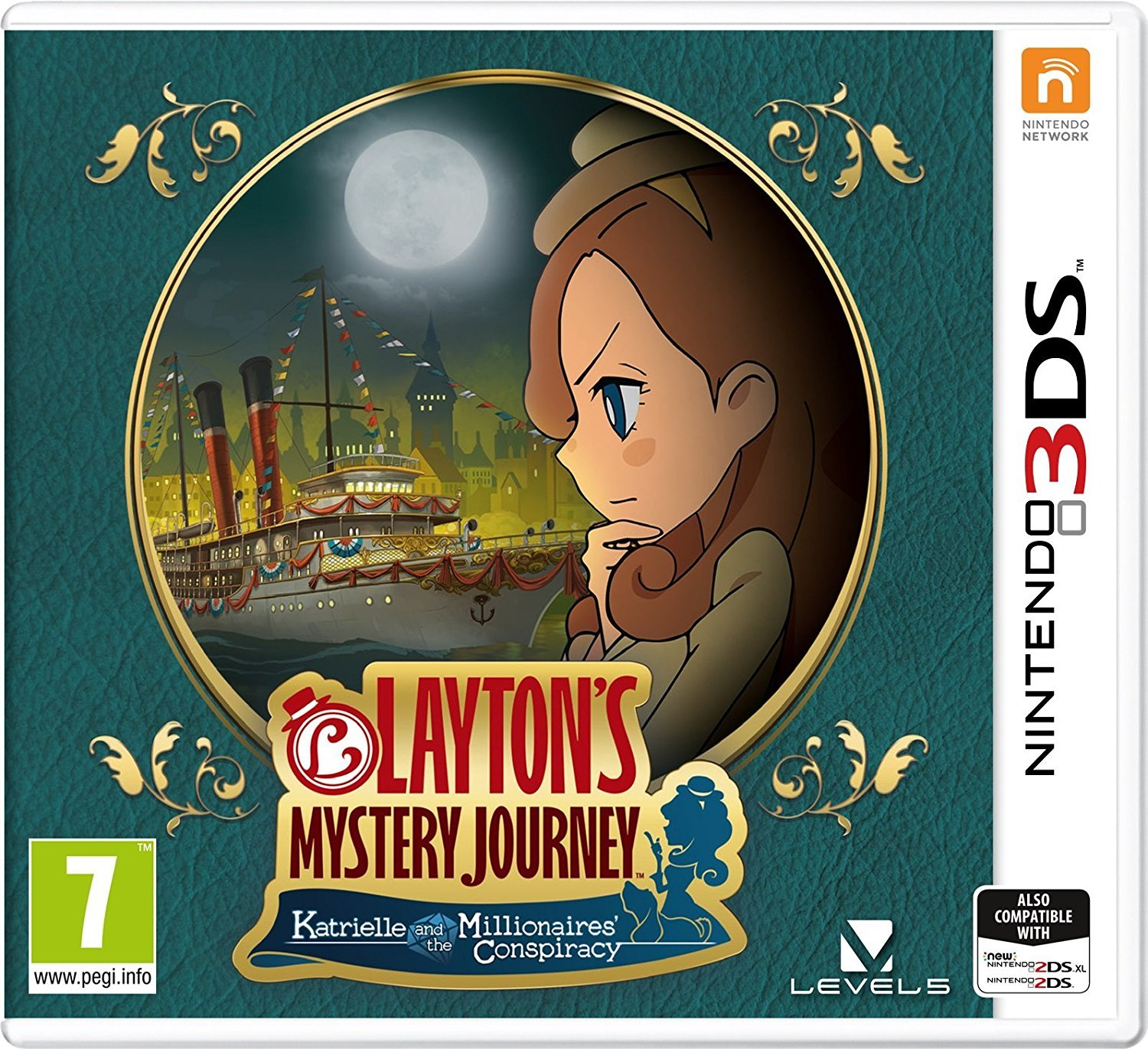 Layton's Mystery Journey: Katrielle and the Millionaires' Conspiracy for Nintendo 3DS image