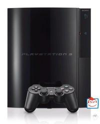 PlayStation 3 Console with Heavenly Sword Platinum/Resistance: Fall of Man Platinum for PS3 image