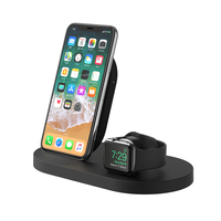 Belkin: BOOSTUP Wireless Charging Dock for iPhone + Apple Watch + USB-A Port - Black