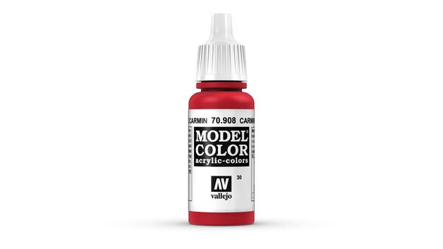 Vallejo Model Colour Carmine Red 17ml