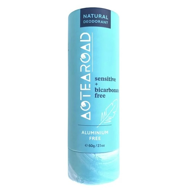 Aotearoad Natural Deodorant - Sensitive + Bicarbonate free (60g)
