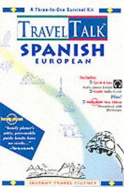 TravelTalk Spanish: European by Inc Penton Overseas