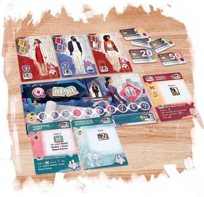 Pret-a-Porter: 3rd Edition - Board Game image