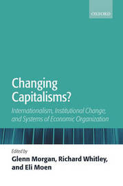 Changing Capitalisms?
