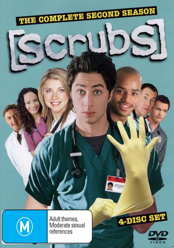 Scrubs - Season 2 on DVD