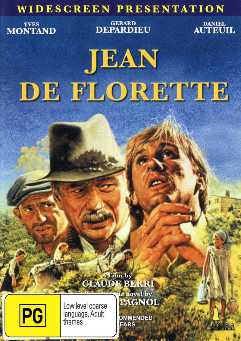 Jean De Florette on DVD image