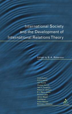 International Society and the Development of International Relations Theory by Roberson image