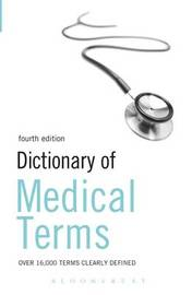 Dictionary of Medical Terms 4ed image