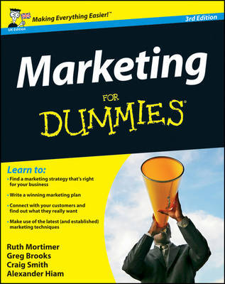 Marketing For Dummies by Ruth Mortimer