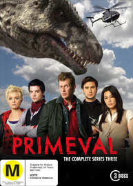 Primeval - The Complete Series 3 (3 Disc Set) on DVD