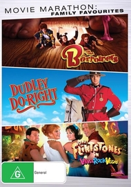 Movie Marathon: Family Favorites (The Borrowers, Dudley Do Right, Flintstones In Viva Rock Vegas) on DVD
