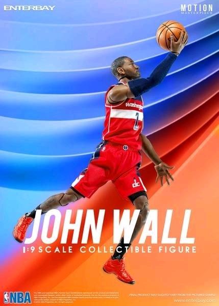 NBA: John Wall - 1/9 Scale Action Figure