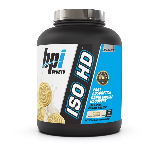 BPI: Sports ISO HD Whey Protein - Vanilla Cookie (2.05kg)