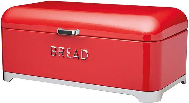KitchenCraft: Lovello Bread Bin - Red