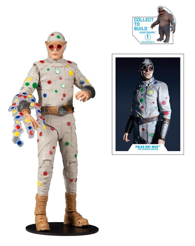 "The Suicide Squad (2021): Polka Dot Man - 7"" Build-A-Figure"