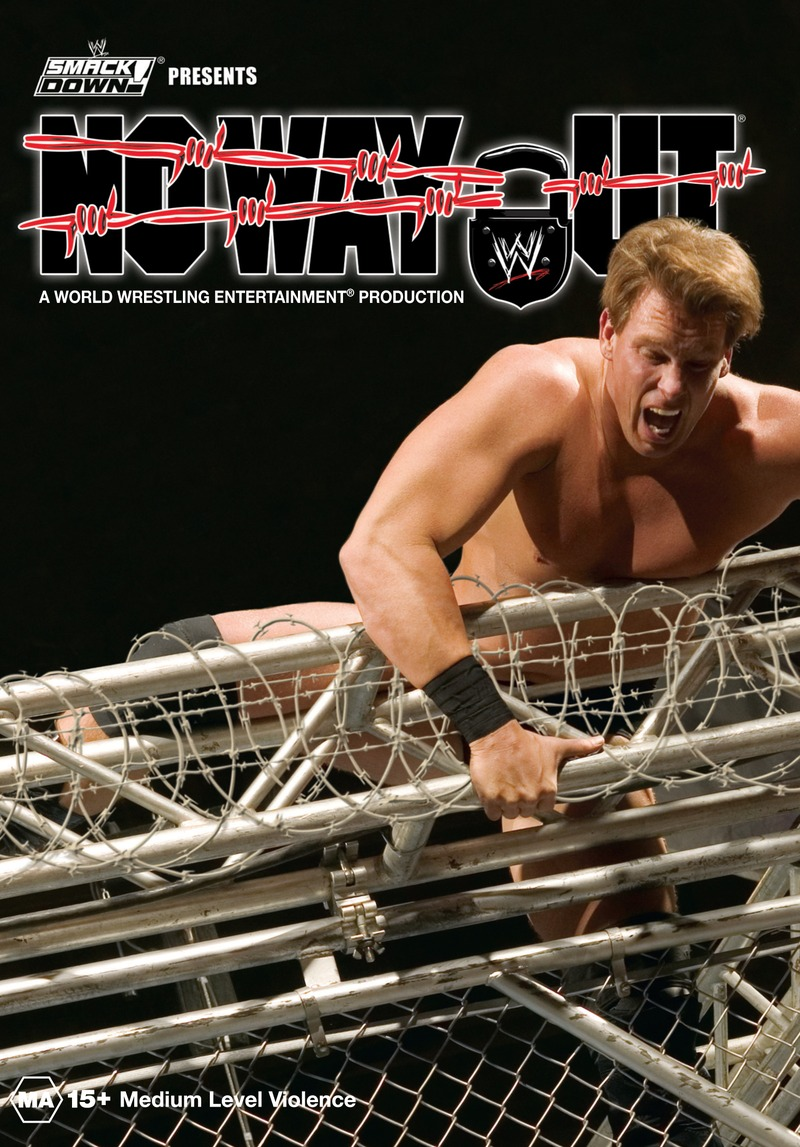 WWE - No Way Out 2005 on DVD image