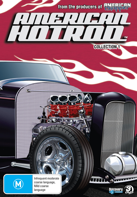 American Hot Rod - Season 1 (3 Disc Box Set) on DVD