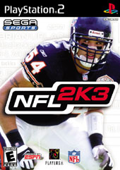NFL 2K3 for PS2