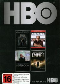 HBO Starter Box Set - Game of Thrones / Boardwalk Empire / The Newsroom / The Sopranos on DVD image