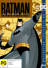 Batman: The Animated Series - Volume Four on DVD