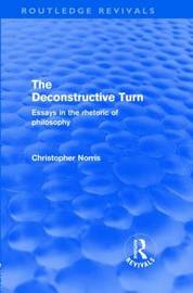 The Deconstructive Turn by Christopher Norris image