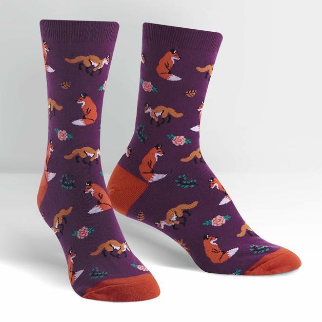 SOCK it to Me: Women's - Fox Trot Crew Socks