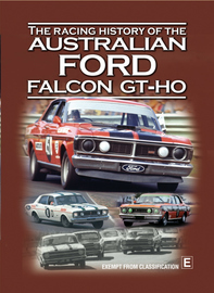 The Racing History Of The Australian Falcon GT - XR To XY on DVD image