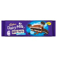 Cadbury Dairy Milk Big Taste Oreo Crunch (300g)