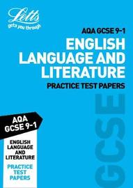 AQA GCSE English Language and Literature Practice Test Papers by Letts GCSE image