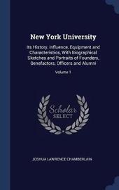 New York University by Joshua Lawrence Chamberlain
