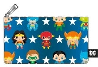 Loungefly: DC Comics - Chibi Pencil Case