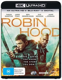 Robin Hood (2018) (2 Disc Set) (UHD/Blu-ray/Digital) on UHD Blu-ray