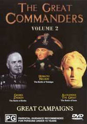 Great Commanders Volume 2 on DVD