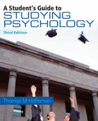 A Student's Guide to Studying Psychology by Thomas M. Heffernan image