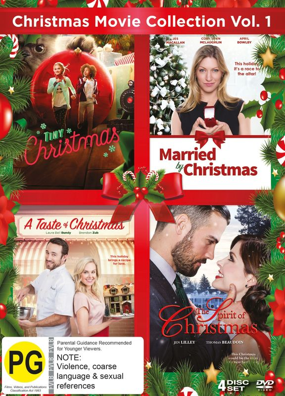 Christmas Movie Collection Vol 1 on DVD