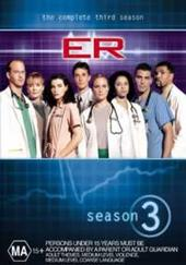E.R. - The Complete 3rd Season (4 Disc Set) on DVD