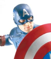 1:9 Avengers: Captain America (Unpainted Kit)
