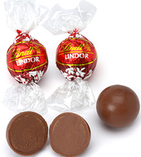 Lindt - Lindor Truffles Milk (Bulk Box 60) image