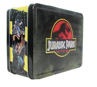 Jurassic Park Retro Style Tin Tote Lunch Box