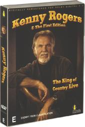 Kenny Rogers & The First Edition - The King Of Country Live on DVD