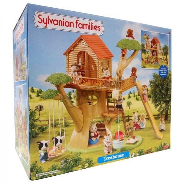 Sylvanian Families Treehouse Toy At Mighty Ape NZ