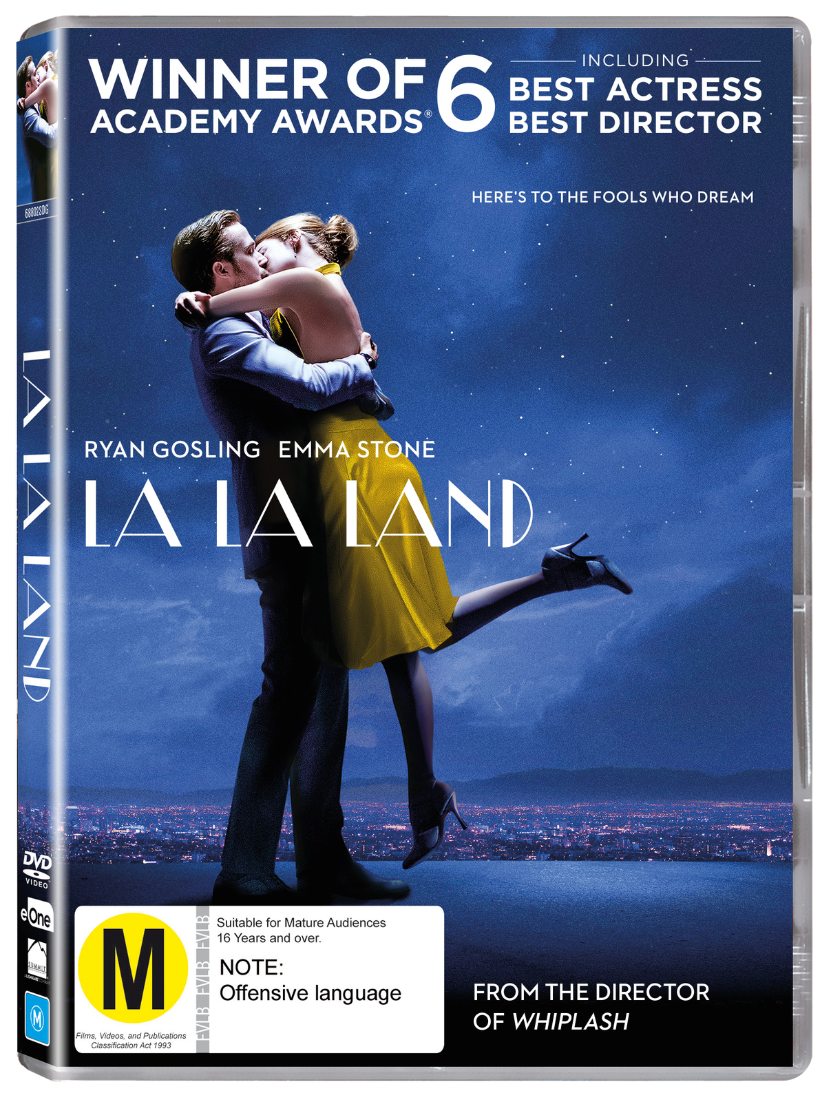 La La Land on DVD image