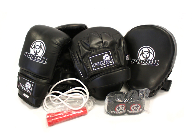 Punch: Urban Glove Combo Pack - Large (Black)