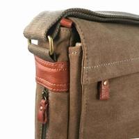 Troop London: Classic Laptop Messenger Bag - Brown