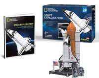 National Geographic: Space Shuttle Discovery - 65 Piece 3D Puzzle image