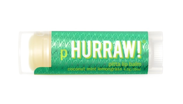Hurraw! Lip Balm - Pitta (Coconut Mint Lemongrass)