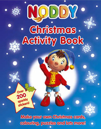 Noddy Christmas Activity Book: Activity Book by Enid Blyton image