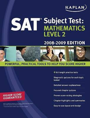 Mathematics: 2008-2009: Level 2 by Kaplan image