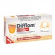 Difflam Plus Anaesthetic Lozenges - Honey & Lemon (16's)